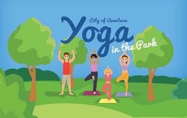 Yoga in the park